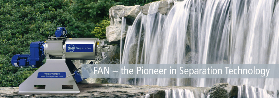 FAN - the Pioneer in Separation Technology
