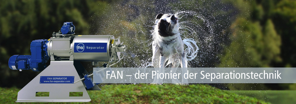 FAN - der Pionier der Separationstechnik